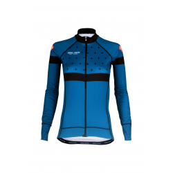 Cycling Jersey Long Sleeves BLUE - BAKIO