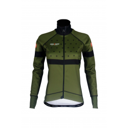 Cycling Jacket Winter PRO KHAKI - BAKIO