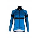 Cycling Lady Jacket Winter PRO BLUE- BAKIO