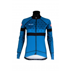 Cycling Jacket Winter PRO BLUE- BAKIO
