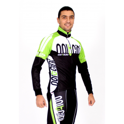 Cycling Jersey Long Sleeves green - TOKIO