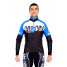 Cycling Jersey Long Sleeves blue - TOKIO