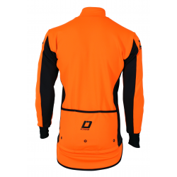 Cycling storm jacket uni orange