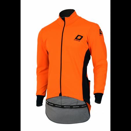 Cycling storm jacket uni orange