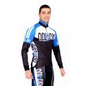 Cycling Jersey Long Sleeves blue - TOKIO