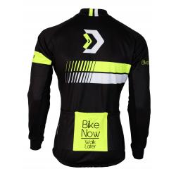 Cyclisme à Veste Winter pro Fluo/Yellow - HERO black fatlock
