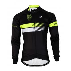 Cycling Jacket Winter pro Fluo/Yellow - HERO black fatlock
