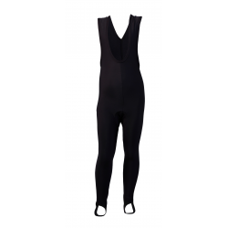 Cycling Bibtight Uni Black with pad