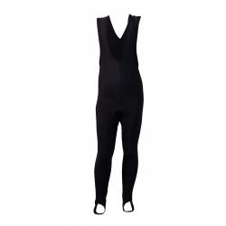 Колоездачен дълъг детски клин Uni Black с подложка