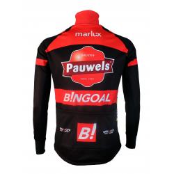 Cyclisme à Veste Winter PRO - PAUWELS BINGOAL