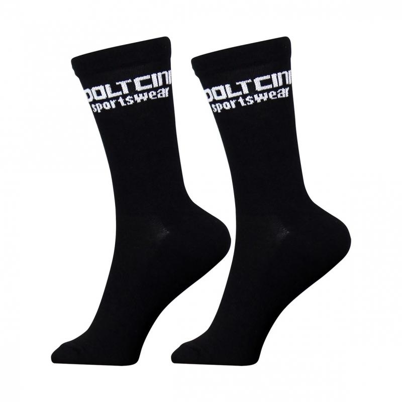 Socks High Summer Black-White