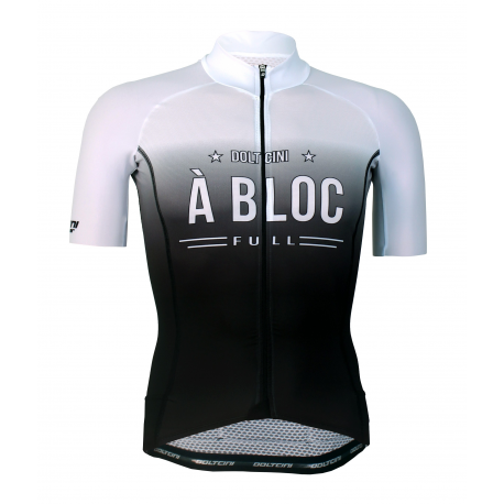 Cycling Jersey short sleeves PRO White - A BLOC