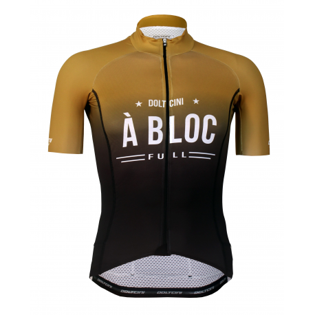 Cycling Jersey short sleeves PRO Gold - A BLOC
