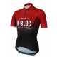 Cycling Jersey short sleeves PRO Bordeaux - A BLOC