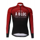 Cycling Jersey long sleeves PRO Bordeaux - A BLOC