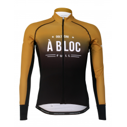 Cycling Jersey long sleeves PRO Gold - A BLOC
