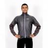 Cycling Rain Jacket grey watherproof - Mira Geel