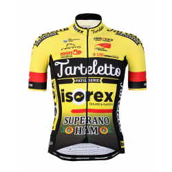 Cycling Jersey short sleeves PRO - ISOREX TARTELETTO 2020