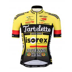 Колоездачно джърси с къс ръкав PRO - ISOREX TARTELETTO 2020