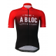 Cycling Jersey Short sleeves PRO Red - A BLOC - KIDS