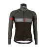 Cycling Jacket Winter PRO BLACK/RED - VINTAGE