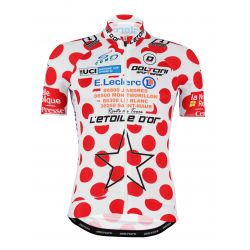 Cycling Jersey Short Sleeves Classic - Leader White