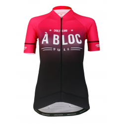 Cycling Jersey short sleeves PRO Magenta - A BLOC