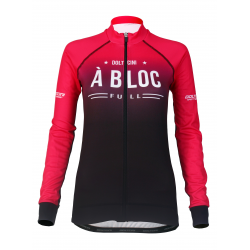 Cycling Jersey long sleeves PRO Magenta - A BLOC