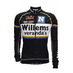 Детско колоездачно джърси с дълъг ръкав Willems Veranda KIDS