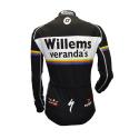 Cycling Jersey Long Sleeves Willems Veranda KIDS