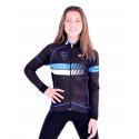 Cycling Kids Jacket Midseason pro Blue - HERO