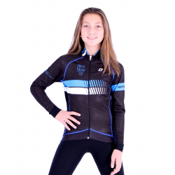 Cycling Kids Jacket Midseason pro Blue - HERO