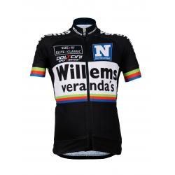 Cycling Kids Jersey Short Sleeves Elite Willems Veranda