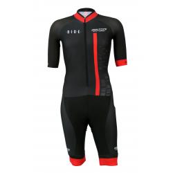 Aerosuit SHORT sleeves PRO - CUBO red KIDS