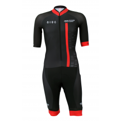 Aerosuit SHORT sleeves PRO - CUBO red KIDS