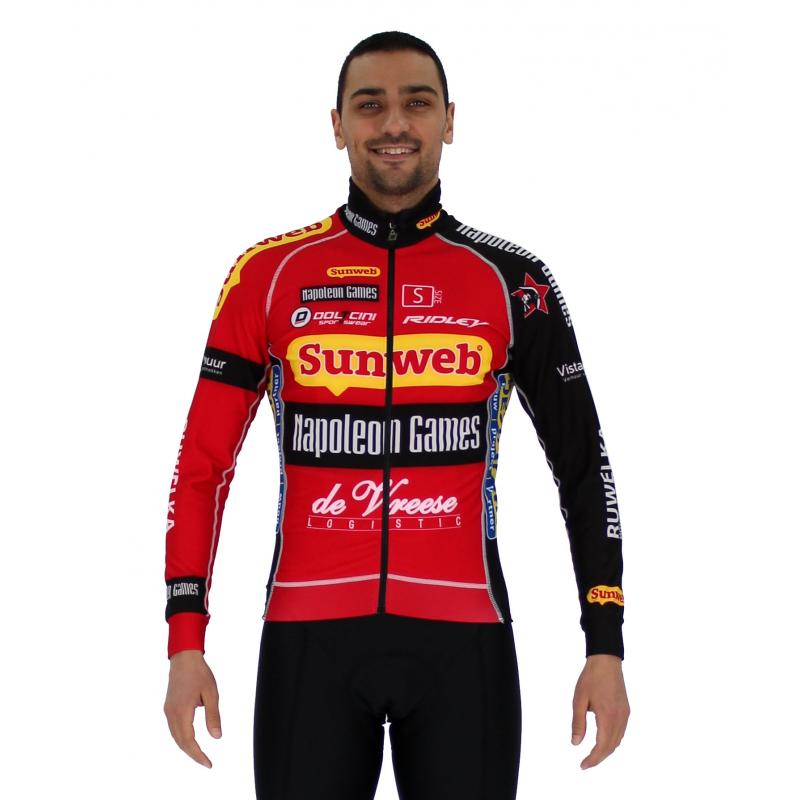 Cycling Jacket Winter PRO - SUNWEB