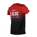 T-shirt- A BLOC BORDEAUX