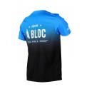 T-shirt- A BLOC BLUE