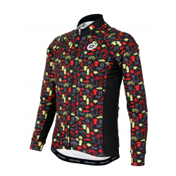 Cycling jersey Long sleeves PRO KIDS Belg.champ