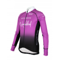 Cycling Jersey long Sleeves PRO - Lavender