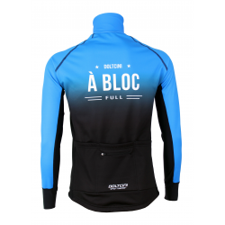Cyclisme à Veste Winter PRO BLACK/BLUE - A BLOC