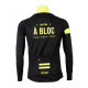 Cycling Jacket Winter PRO BLACK/FLUO YELLOW - A BLOC