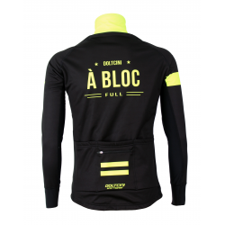 Cyclisme à Veste Winter PRO BLACK/FLUO YELLOW - A BLOC