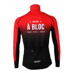 Cyclisme à Veste Winter PRO BLACK/RED - A BLOC