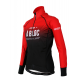 Cycling Jacket Winter PRO BLACK/RED - A BLOC
