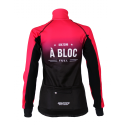 Cyclisme à Veste Winter PRO BLACK/PINK - A BLOC