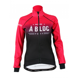 Cycling Jacket Winter PRO BLACK/PINK - A BLOC