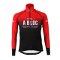 Cycling Jacket Winter PRO BLACK/RED - A BLOC KIDS