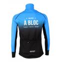 Cycling Jacket Winter PRO BLACK/BLUE - A BLOC KIDS
