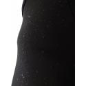 Cycling Bibtight Uni Black with pad - WATERPROOF